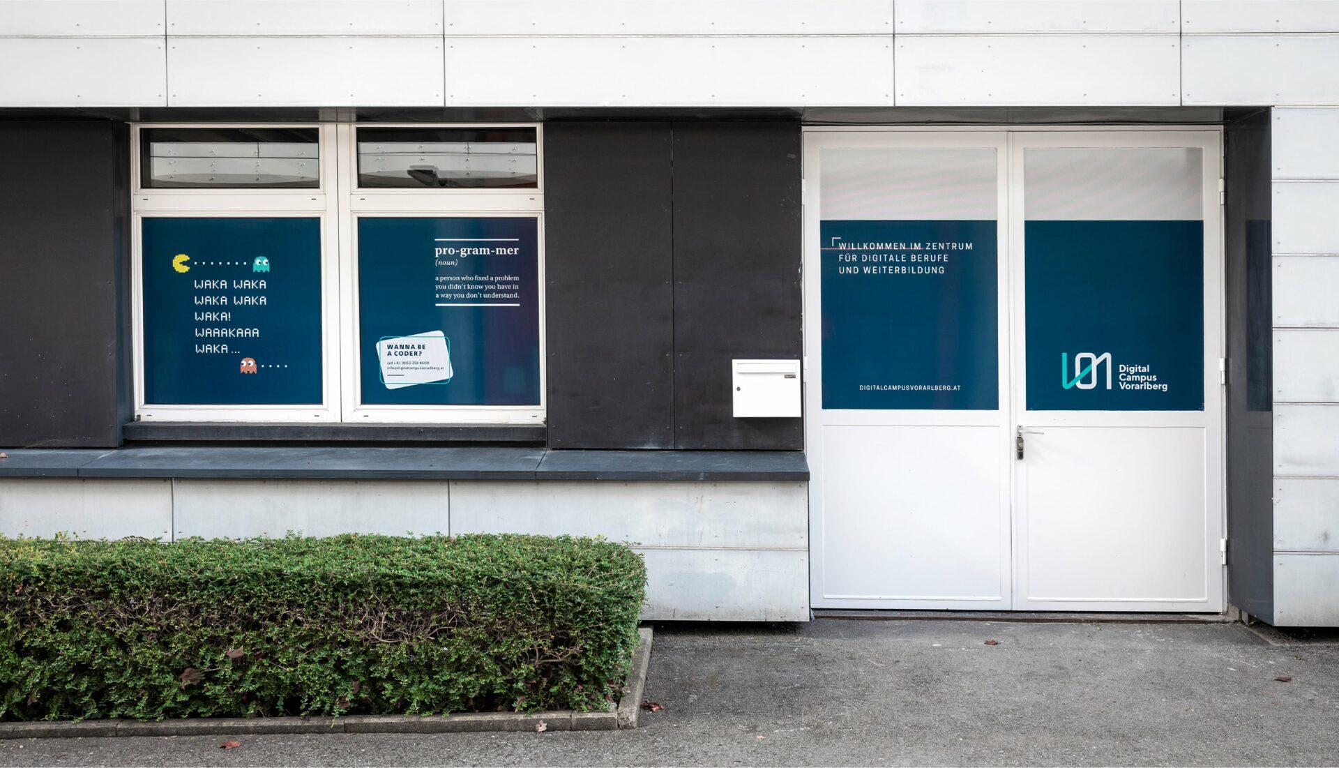 Außenansicht des Digital Campus Vorarlberg