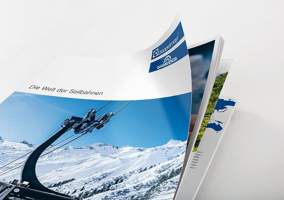 Cover Imagebroschüre die Welt der Seilbahnen