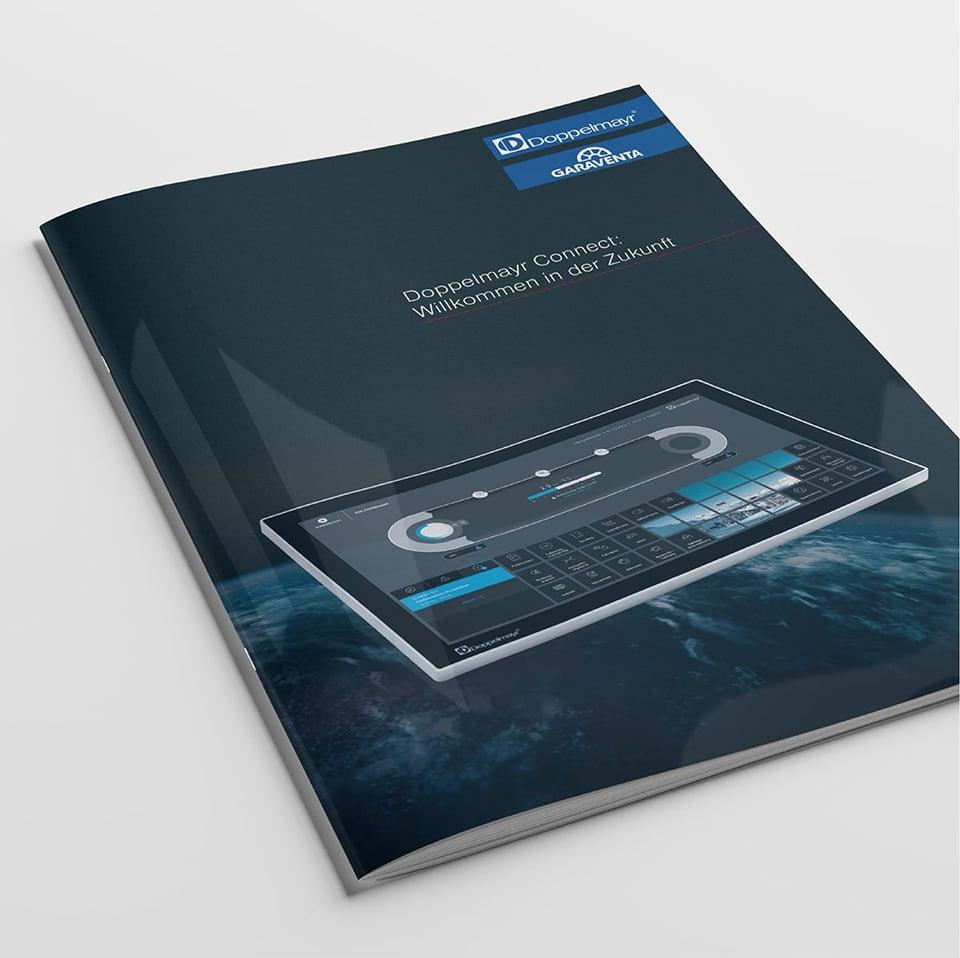 Cover Broschüre Doppelmayr Connect