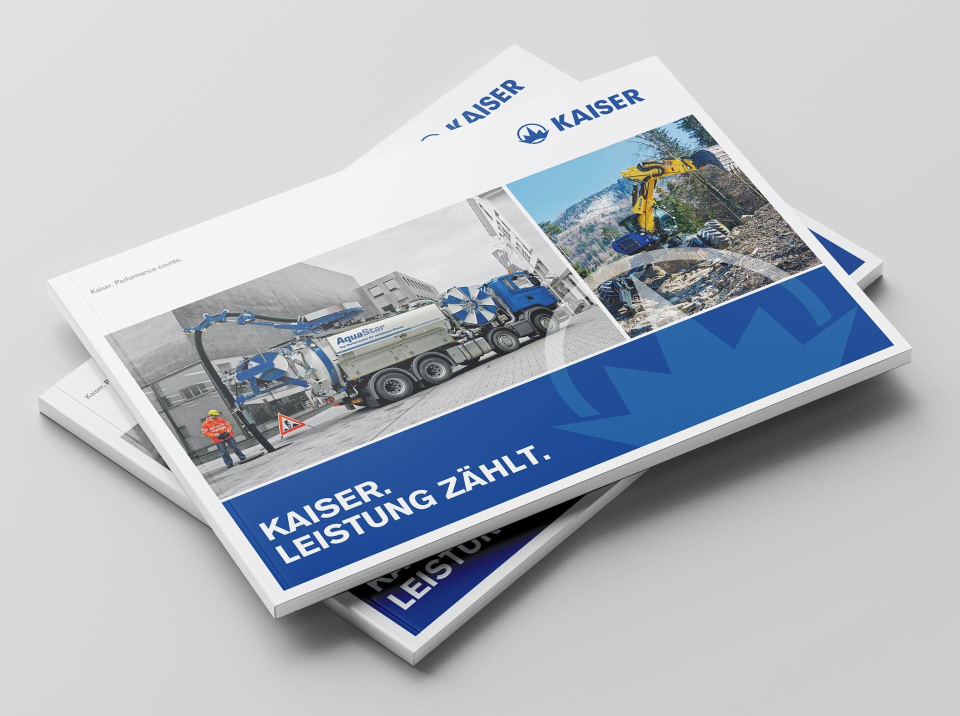 Cover Kaiser Imagebroschüre