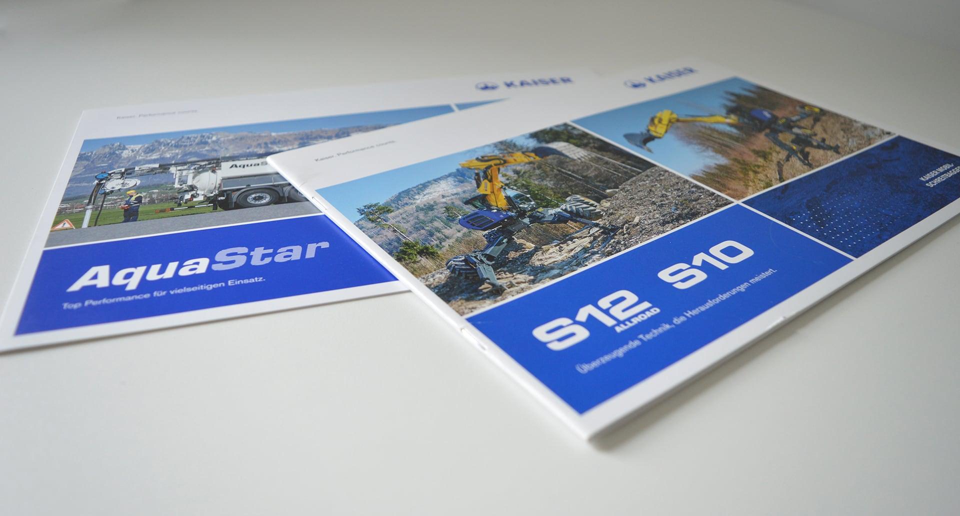Cover Kaiser Produktbroschüre S12 S10