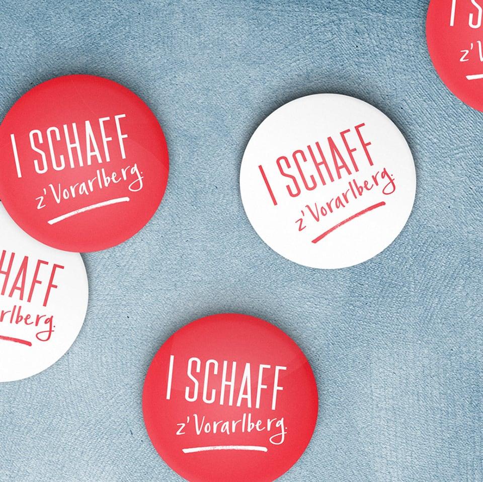Button I Schaff z'Vorarlberg