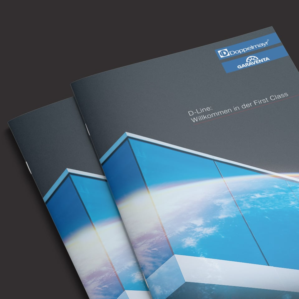 Cover der D-Line Broschüre
