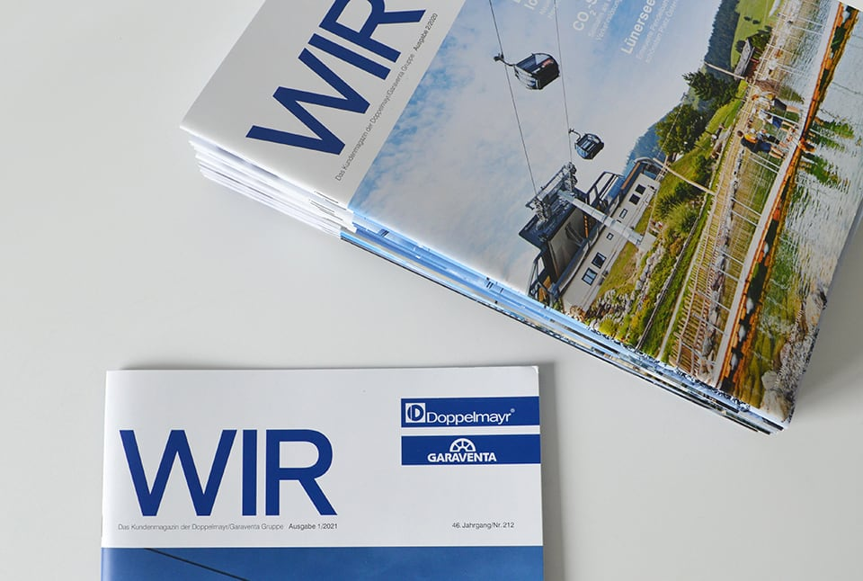 Doppelmayr Wir Magazincover
